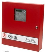 Potter PFC-6030 Fire Alarm Control Panel Analog Addressable FACP