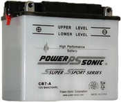 Powersonic CB7-A 12v Lead Acid Motorcycle Battery