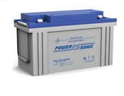 Powersonic PG-12V120-FR Rechargeable Sealed Lead Acid Battery 12 Volt 124 Amp Hour