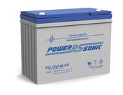 Powersonic PG-12V140-FR Rechargeable Sealed Lead Acid Battery 12 Volt 144 Amp Hour