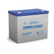 Powersonic PG-12V55-FR Rechargeable Sealed Lead Acid Battery 12 Volt 75 Amp Hour