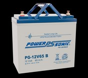 Powersonic PG12V65 12V 65Ah Battery