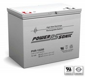 Powersonic PHR12200 Sealed Rechargeable Battery - 12V 60Ah