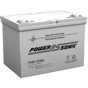 Powersonic PHR12300 12V 75Ah @ 20 Hr. Rate Battery
