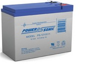 Powersonic PS-12100H-F2 Sealed Lead Acid Battery 12V 105AH 525mA Faston 250 Series