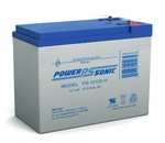 Powersonic PS12100H Powersonic  12V 10.5 Amp Battery F2 Term