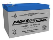 Powersonic PS-12120 F2 Battery 12 Volt 120 Amp Hour