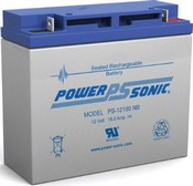 Powersonic PS12180 12Volt Generator Battery 12v 18ah SLA