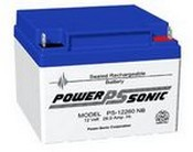 Powersonic PS-12260 12 Volt 260 Amp Hrs Sealed Led Acid Battery
