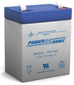Powersonic PS-1227 12V 29AH Sealed Rechargeable Battery
