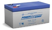 Powersonic PS-1230 Sealed Lead Acid Battery 12V 34AH 170mA Faston 0187