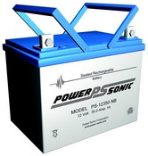 Powersonic PS-12350 12 Volt 35 Amp Hrs Rechargeable Sealed Lead-Acid Battery