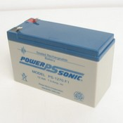 Powersonic PS-1270F1 12 Volt/7 Amp Hour Sealed Lead Acid Battery with 0187 Fast-on Connector