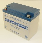 Powersonic PS-6200 6 Volt/20 Amp Hour Sealed Lead Acid Battery with Nut-Bolt Terminal