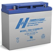 Powersonic PSH-12180FR 12V 21AH Power-Sonic Sealed Rechargeable Battery