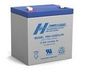 Powersonic PSH-1255F2-FR Sealed Lead Acid Battery 12V 6.0AH FLAME RET FASTON 0.250