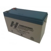 Powersonic PSH-1280F2 FR 12 Volt/85 Amp Hour Sealed Lead Acid Battery with 0250 Fast-on Connector Flame Retardant Case
