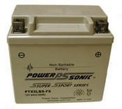 Powersonic PTX5LBS-FS 12v 4Ah Lead Acid Motorcycle ATV Scooter Battery