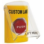 Safety Technology Intl. SS2229ZAEN Yellow, Push Turn To Reset, Stopper Shie