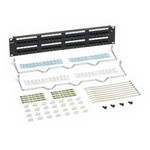 Commscope 1100GS3-48 W/TERMINATION MGT | 760062380 GigaSPEED XL 1100GS3 Category 6 U/UTP Patch Panel, 48 Port with termination manager