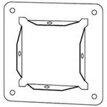 Hoffman F88GPA Panel Adapter, Lay-In NEMA Type 1 Flat-Cover Wireway, 10