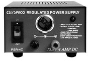 Speco PSR-4C 4 Amp Regulated 12vdc Power Supply