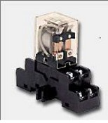 Altronix RDC12, DIN Rail Mount UL Recognized Relay & Base
