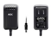 Radio Design Labs PS-24AS 24 Vdc Switching Power Supply, North American AC Plug, 500 mA, dc Plug