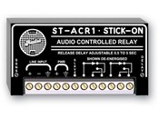 Radio Design Labs ST-ACR1 Line?Level Audio Controlled Relay ? 0.5 to 5 s