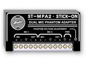 Radio Design Labs ST-MPA2 Stick-On Series Microphone Phantom Power Adapter