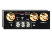 Radio Design Labs TX-MVX Manual Rmt Controlled Video Switch ? 2x1 ? BNC