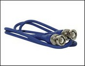 Revere Industries RBNC-B6 Blue 6' Cable BNC to BNC Plugs