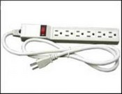 Revere Industries RPS6E Revere Power Strip 6 Outlets
