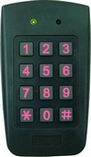 Rosslare Security AYC-F54 Convertible 3×4 Backlit PIN Reader/Controller