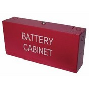 Space Age Electronics SSU00505 MBC Mini Battery Cabinet Red