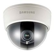 "Samsung SCD-2080B, Analog Dome, 1/3"" Vertical Double Density CCD, 600TV Lines, True Day Night, 2.8~10mm Lens,"