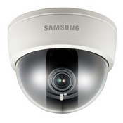 "Samsung SCD-3080B, Analog Dome, 1/3"" Vertical Double Density CCD, 600TV Lines, True Day Night, Wide Dynamic Range, 2.8~10mm"