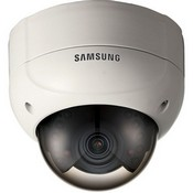 Samsung SCV-2080R High-Resolution IR LED Vandal-Resistant Dome Camera