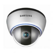 "Samsung SID-562B, WDR Low Light Indoor Dome with 1/3"" CCD, 560 TV lines, 2.8~10mm - 24 VAC / 13 VDC, Black."