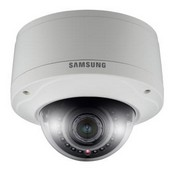 Samsung SNV-5080R Network HD Vandal Resistant IR Dome, 1/2.8