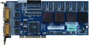NUUO SCB-6004 Hardware H.264 Capture Card 4ports