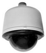 Pelco SD4C22PSGE0 Day/Night Dome System, 22X LowLight, Stainless Steel Environmental Pendant, Smoked, NTSC