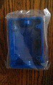 Security Door Controls 491BB Back Box F/491 Brtbrs Stn Blue