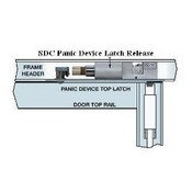 Security Door Controls PD2090ALU SDC LH/RHR Failsecure PanicLok For Dor-O-Matic and Kawneer Exit Device