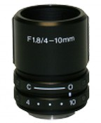 Stardot Technologies LENMV410CS 1/2'' 1MP 4-10mm Varifocal Lens, CS Mount