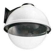 "Videolarm SDW16CHB 16"" Outdoor Dome HSG With Wall Mount, Clear Dome, 24VAC Input"