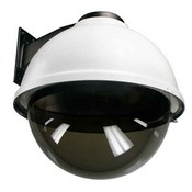 "Videolarm SDW16THB 16"" Outdoor Dome HSG with Wall Mount, Tinted Dome, 24VAC Input"