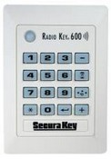 Securakey RK600T Standalone Proximity/Keypad Card Reader w/10 Tags