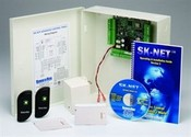 Securakey SYSKIT1 Access Control Kit, 2 Readers, Includes Molded Cards