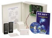 Securakey SYSKIT2 Access Control Kit, 2 Readers, Includes Molded Cards